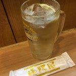 晩杯屋 - おしぼり 70円