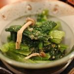 草春庵 - ランチの小鉢