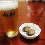 東宝茶屋 - 料理写真:生ビール