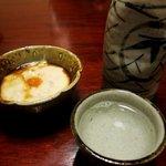 東宝茶屋 - 30年物の「本馴れ鮓」には地酒「太平洋」を合わせる