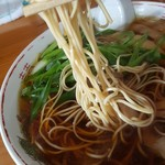 山ちゃん - 細麺です