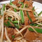 中華料理 翠珍 - レバニラ炒め