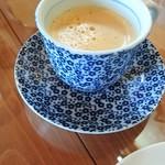 こぶたの家 - ドリンクバーのコーヒー