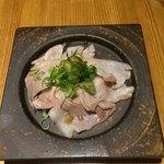 77792660 - 芳寿豚炙りネギポン酢