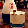 まる井亭 - ドリンク写真:フチ子さんも熱燗風呂に入り(?)、ご満悦。