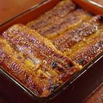 うなぎ 桜家 - 料理写真:うなぎ重箱(3枚)