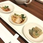 南翔饅頭店 - 前菜(ランチコース)