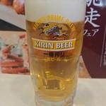 夢庵 - ドリンク写真:生ビール。