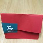 77794062 - クリスマスを意識した紙袋。もうすぐクリスマスですね('17/12/10)