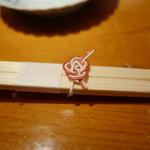 乙女寿司 - 箸に水引が