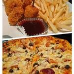 77795627 - 串揚げ·ポテトフライとピザ