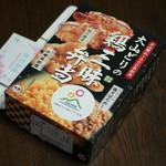 77795727 - 大山どりの鶏三昧弁当(1,200円)2017年12月