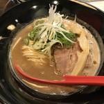 らーめん伊藝 - 豚骨魚介らーめん(800円)