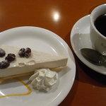 カスピタ - ランチ デザートとコーヒー