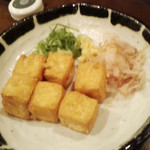 伝説の串 新時代 - 揚げたて絹ごし豆腐の厚揚げ