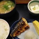 77803230 - 豚汁定食 590円