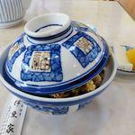 天丼 天ぷら 伊豆家 - 伊豆家本店(天丼 蓋を開ける前♫)