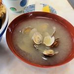 天丼 天ぷら 伊豆家 - 伊豆家本店(味噌汁 100円 ※あさり汁です)