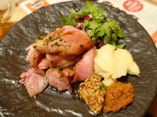 ブリューパブ テタールヴァレ - 本日の塊肉 イベリコ豚