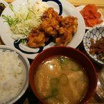 博多ふくいち - 唐揚げ定食1,000円