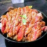 77807286 - ステーキ丼 大1150円
