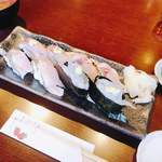 甚伍朗 - 地魚にぎり定食