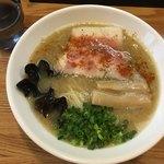 麺や 一想 - 濃昆鶏白湯(醤油)〜(*^ω,^*)/¥800円