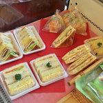 バイカル - サンドイッチ類も美味しそう
