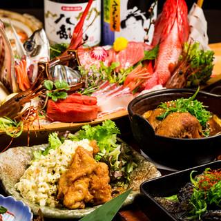 【予約殺到】当店こだわりの大山鶏コース料理2500円~。