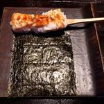 銀座ことひ - 才巻海老手巻き寿司