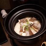 銀座ことひ - 鯛の炊き込みご飯