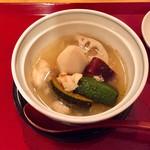 和料理 日和 - 焚き合わせ 海老芋、南京、れんこん、などきせつのお野菜