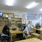 浪江焼麺太国アンテナショップ - 浪江焼麺太国アンテナショップ 店内の様子