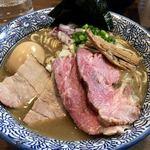 煮干しつけ麺 宮元 - 「特製極上濃厚煮干しそば」(980円)
