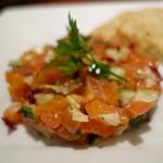 イタリア料理 フィオレンツァ - ノルウェー産サーモンのタルタール