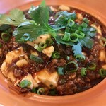 Chuugokuryourikujikuji - 主菜のなめらか絹豆腐の麻婆豆腐
