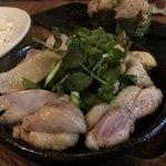 かしわビストロ バンバン - 地鶏のかしわ焼き 880円