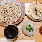 京ぜん - 『大海老天そば+蕎麦大盛り』様(1400円+210円)