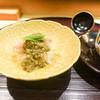 はらまさ - 料理写真:蟹蒸し寿司