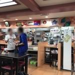 空港食堂 - 店内