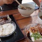豆腐茶屋 嵯峨豆腐 三忠 - 鰊そば、ごま豆腐、湯葉