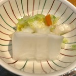 うかい亭 一花 - 漬物【料理】