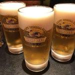 チャミヤラキッチン - 生ビール