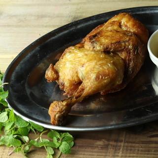 【2大人気】カリトロッ!焼てびち&若鶏半身揚げ♪