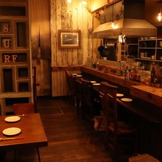 DIYでほっこり和み◎まるで沖縄海辺の古民家カフェ♪