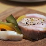 RIGOLETTO SMOKE GRILL & BAR - 燻製京赤鶏のバロティーヌ