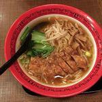 万世麺店 - 排骨拉麺