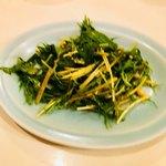 中国料理 ワンワン - 料理写真:水菜のキムチ