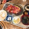 石どら - 料理写真:ランチ牛カルビ+Aセット(麦とろごはん)