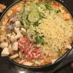 竹とんぼ - 料理写真:「マーボー豆腐もんじゃ」900円